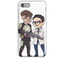The Scientist and his Bodyguard iPhone Case/Skin