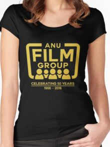 ANU Film Group Logo (50th Anniversary) Women's Fitted Scoop T-Shirt