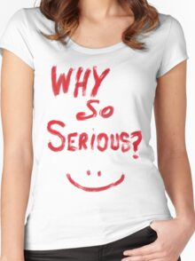 Batman joker  Women's Fitted Scoop T-Shirt