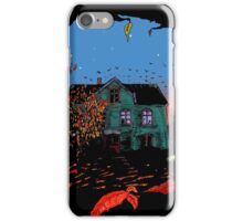 House in red iPhone Case/Skin