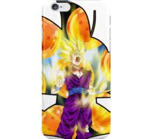Dragon Ball Z - Silhouette - Fighter Gohan iPhone Case/Skin