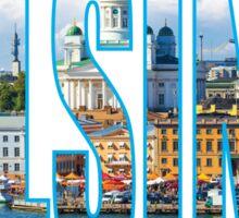 Helsinki. Sticker