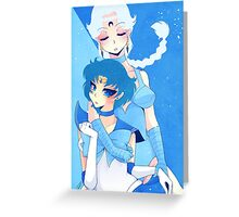 Act 16: Abduction ~Sailor Mercury~ Greeting Card