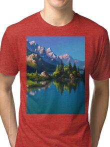 North America Landscape Tri-blend T-Shirt