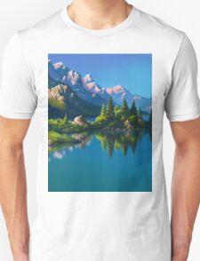 North America Landscape Unisex T-Shirt