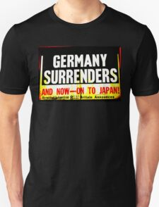 WWII Germany Surrenders T-Shirt