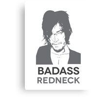Badass Redneck Canvas Print