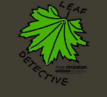 Vine Maple - Leaf Detective Womens Fitted T-Shirt