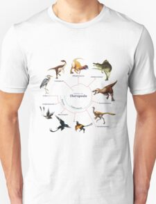 Theropoda: The Cladogram T-Shirt