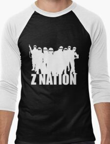 Z Nation Silhouette Men's Baseball ¾ T-Shirt
