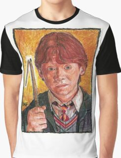 RON WEASLEY, AS PORTRAYED BY ACTOR RUPERT GRINT Graphic T-Shirt