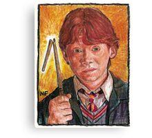 RON WEASLEY, AS PORTRAYED BY ACTOR RUPERT GRINT Canvas Print