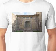 Herculaneum House - Elegant Arched Alcove and Mosaic Wall Art Unisex T-Shirt