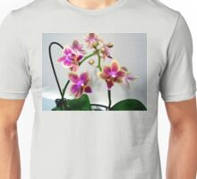 PURPLE AND YELLOW ORCHID Unisex T-Shirt
