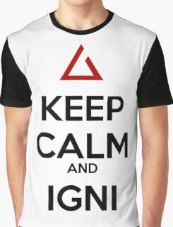 The Witcher Igni Graphic T-Shirt