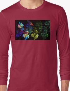 Festive Leaves Long Sleeve T-Shirt
