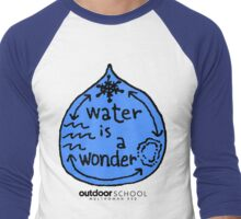 Water is a Wonder Men's Baseball ¾ T-Shirt