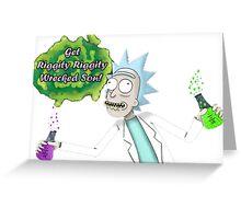 Rick Sanchez Greeting Card