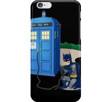 Breaking In Box Telephone iPhone Case/Skin