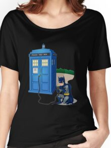 Breaking In Box Telephone Women's Relaxed Fit T-Shirt