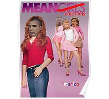 Mean Elections (Mean Girls Parody) Poster