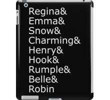 Once Upon A Time - Names iPad Case/Skin