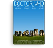 Doctor Who - Movie Poster Canvas Print