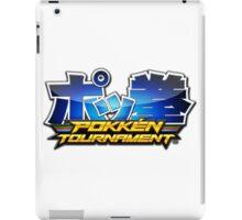 Pokken Tournament Logo iPad Case/Skin