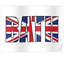 Bath. Poster
