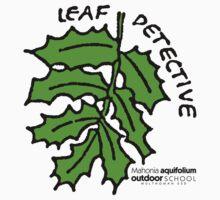 Oregon Grape - Leaf Detective Kids Tee