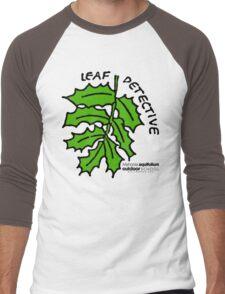 Oregon Grape - Leaf Detective Men's Baseball ¾ T-Shirt