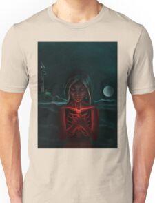 """""""The Eternal Light """"   -  (Dark Night of the Soul Art Illustration)  Unisex T-Shirt"""