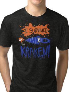 I Survived the Kraken! Tri-blend T-Shirt