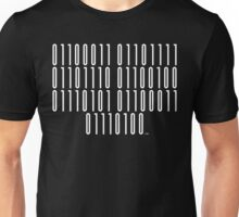 <Code of Conduct> Binary Barcode Unisex T-Shirt