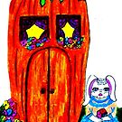 MS. BUNNY'S CARROT HOUSE  by JoAnnHayden