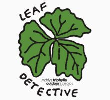 Vanilla Leaf - Leaf Detective One Piece - Short Sleeve