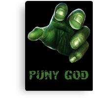Puny God Canvas Print
