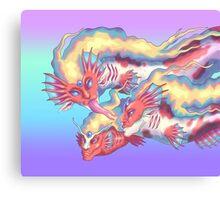 Strange Dragons Canvas Print