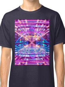 Rave Vision Synesthesia - Psychedelic Geometric Art  Classic T-Shirt