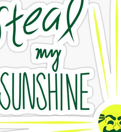 Steal My Sunshine - Mr Robot Sticker