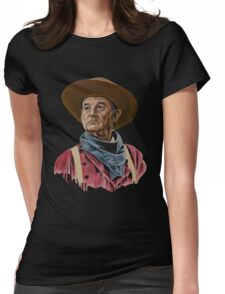 Cowboy Hat Womens Fitted T-Shirt