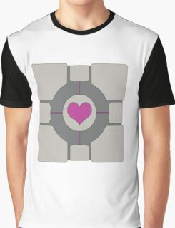 Companion Cube Graphic T-Shirt