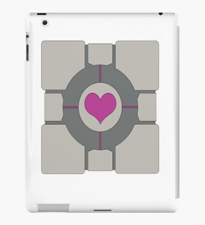 Companion Cube iPad Case/Skin