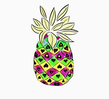 Neon Pineapple Women's Fitted Scoop T-Shirt