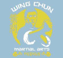 Wing Chun Martial Arts One Piece - Short Sleeve