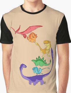 DinoBow Graphic T-Shirt