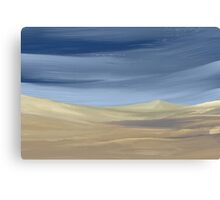 Sweeping desert dune landscape painting  Canvas Print