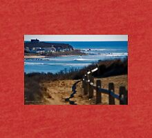 Coast Of Long Island - A View From Shadmoor State Park | Montauk, New York Tri-blend T-Shirt