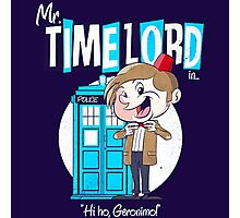 Doctor Who Mr Timelord Photographic Print