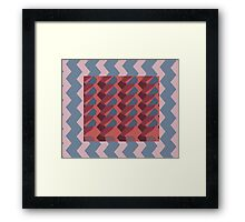 HUES TWO Framed Print